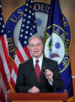 Rep. Tom Price speaks at a press conference on the repeal of the Medicare Independent Payment Advisory Board in Washington