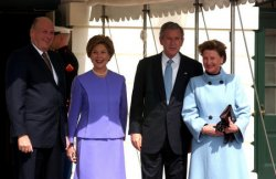 NORWAY ROYALTY AT THE WHITE HOUSE