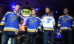 St. Louis Blues introduce new jersey