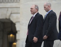 Rep. Scalise leaves the Capitol before Recess