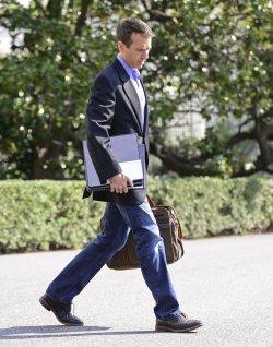 Obama Departs the White House in Washington
