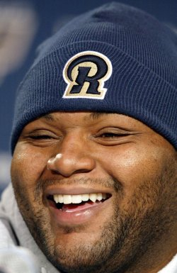 ST. LOUIS RAMS PREPARE FOR PLAYOFFS