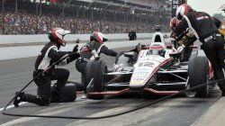 Will Power Pits During Indianapolis 500