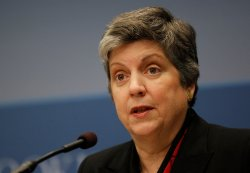 "Secretary of Homeland Security Napolitano delivers the third annual ""State of America's Homeland Security"""