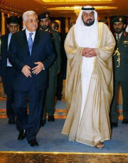 PALESTINIAN PRESIDENT ABBAS MEETS WITH UAE PRESIDENT