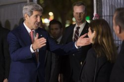 Kerry Observes Rabin's Assassination in Israel