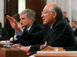 Interior Secretary Salazar testifies on offshore oil and gas exploration on Capitol Hill