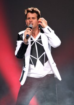 New Kids on the Block performs in concert in Sunrise, Florida