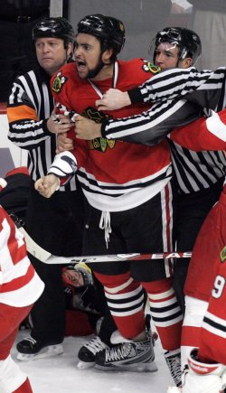NHL Western Conference Finals Detroit Red Wings vs Chicago Blackhawks