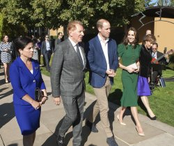 Duke and Duchess of Cambridge visit Mission Hill Winery in Kelowna during 2016 Royal Tour