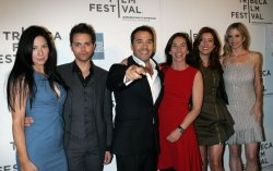 "Lynn Collins, Thomas Dekker, Jeremy Piven, Gaby Dellal, Kate Walsh and Mira Sorvino arrive for the Tribeca Film Festival Premiere of ""Angels Crest"" in New York"