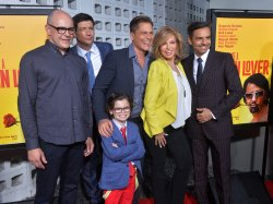 "Cast members attend the ""How to Be a Latin Lover"" premiere in Los Angeles"