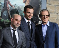 """Stanley Tucci, Nicholas Hoult and Bill Nighy attend """"Jack the Giant Slayer"""" premiere in Los Angeles"""