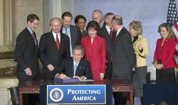 BUSH SIGNS INTELLIGENCE REFORM BILL