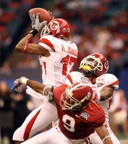 University of Utah vs the University of Alabama in the Allstate Sugar Bowl