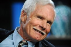 Ted Turner participates in the Milken Institute Global Conference in Beverly Hills, California