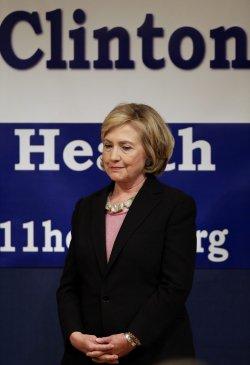U.S. Sen. Hillary Rodham Clinton at the United Federation of Teachers union