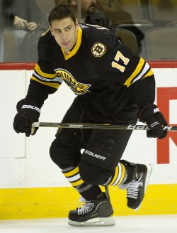 Bruins Lucic Skates During Warm Ups in Denver....Flags Fly at Half-Staff Day after Assassination Attempt Against U.S. Rep Giffords in Florence, Arizona