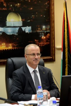 First Palestinian Unity Government Cabinet Meeting, Ramallah