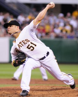 Pittsburgh Pirates Pitcher Wandy Rodriguez Starts in Pittsburgh