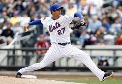 Milwaukee Brewers at New York Mets at Citi Field in New York