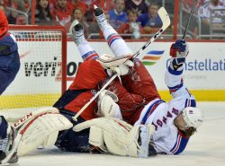 New York Rangers vs Washington Capitals NHL Playoffs in Washington