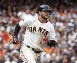Giants Jeff Keppinger goes 4 for 4 against the Phillies in San Francisco