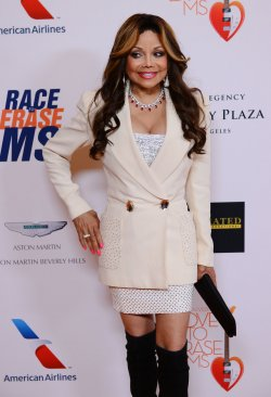 La Toya Jackson attends the 20th annual Race to Erase MS gala in Los Angeles