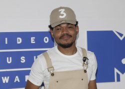 Chance the Rapper arrives at the 2016 MTV Video Music Awards