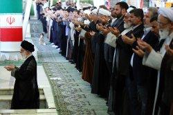Eid-al-Fitr Festival celebrated in Iran