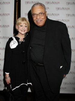 "James Earl Jones and wife arrive for the ""Stella By Starlight"" Gala in New York"