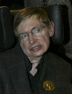 PROFESSOR STEPHEN HAWKING RECEIVED THE JAMES SMITHSON BICENTENNIAL MEDAL