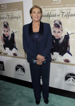 50th Anniversary Celebration For The Film Breakfast At Tiffany's in Alice Tully Hall at Lincoln Center in New York