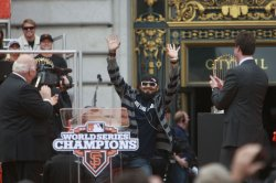 San Francisco celebrates the Giants winning the World Series