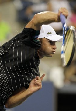 Andy Roddick at the U.S. Open Tennis Championships in New York