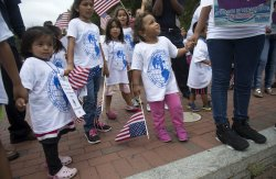Children of Deportees Gather to Urge for Immigration Reform in Washington, D.C.