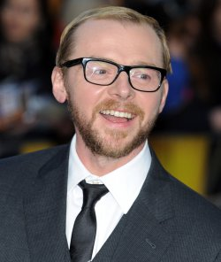 "Simon Pegg attends the premiere of ""The Adventures Of Tintin: The Secret Of The Unicorn"" in London"