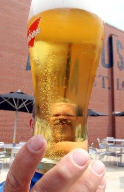 Anheuser Busch opens Biergarten at St. Louis brewery