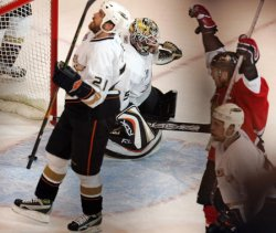2007 STANLEY CUP FINALS GAME FOUR ANAHEIM DUCKS VS OTTAWA SENATORS