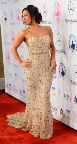 Cheryl Burke attends the 2012 Carousel of Hope gala in Beverly Hills, California
