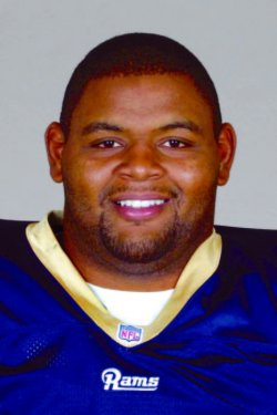 St. Louis Rams Orlando Pace is injured