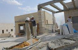 Jewish Housing Built In West Bank Israeli Settlement