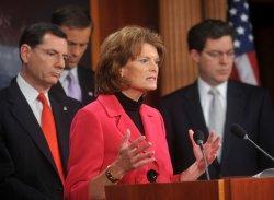 GOP Senators speak on the Obama Administration's environmental protection plans in Washington