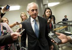 Senators Work on Immigration Reform Bill in Washington