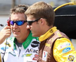 David Ragan Grabs Pole for Brickyard 400 in Indianapolis, Indiana.