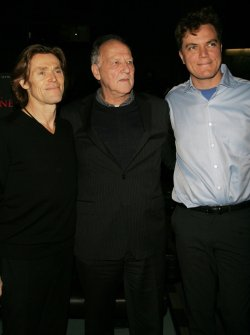 "Willem DaFoe, Werner Herzog and Michael Shannon arrive for the premiere of ""My Son, My Son What Have Ye Done"" in New York"