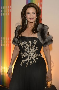 Lynda Carter arrives for 2013 Kennedy Center Honors Gala in Washington DC