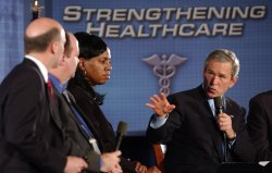 PRESIDENT BUSH DISCUSSES HEALTH CARE REFORM