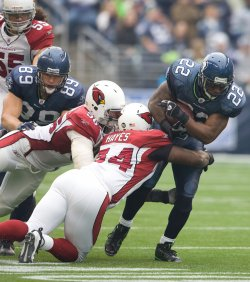 Arizona Cardinals vs Seattle Seahawks in Seattle