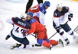 Men's Hockey USA vs Czech Republic during the Sochi 2014 Winter Olympics